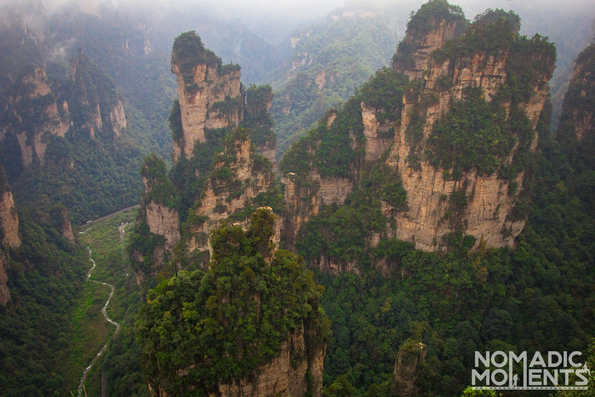 ZhangjiajieOverlook
