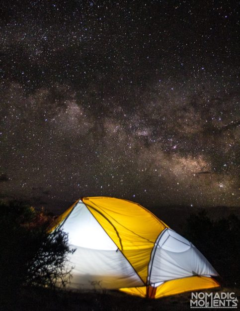 Camping In The Milky Way