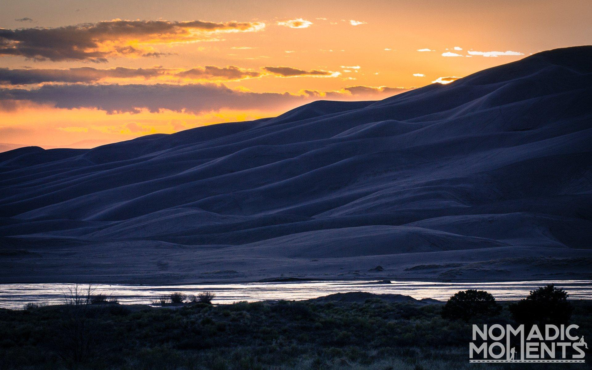 Great Sand Sunset