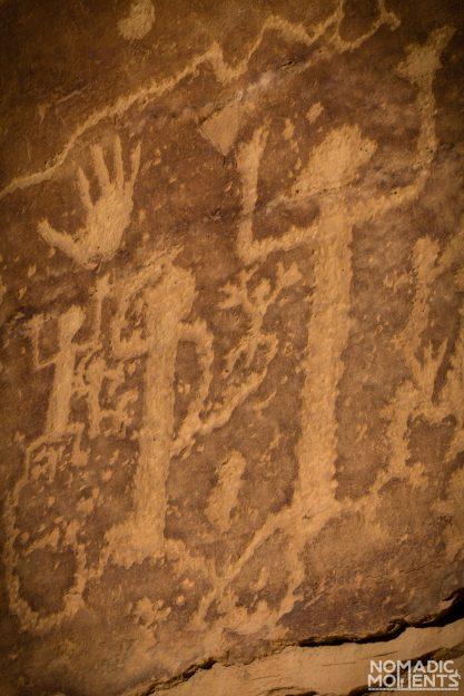 Petroglyphs at Mesa Verde