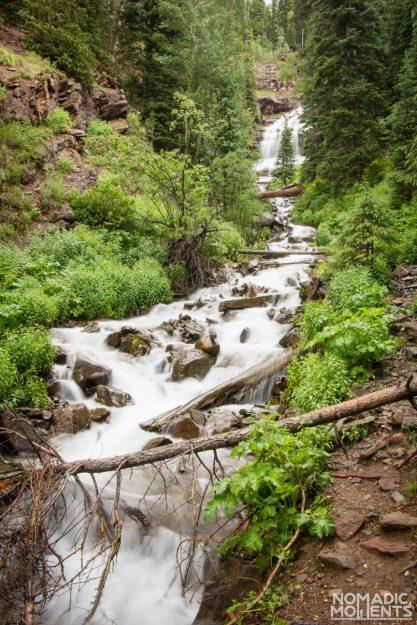 The Clear Creek Waterfall