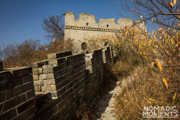 A brick tower along the trail from Jiankou to Mutianyu