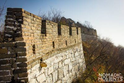 Structure of the Great Wall of China
