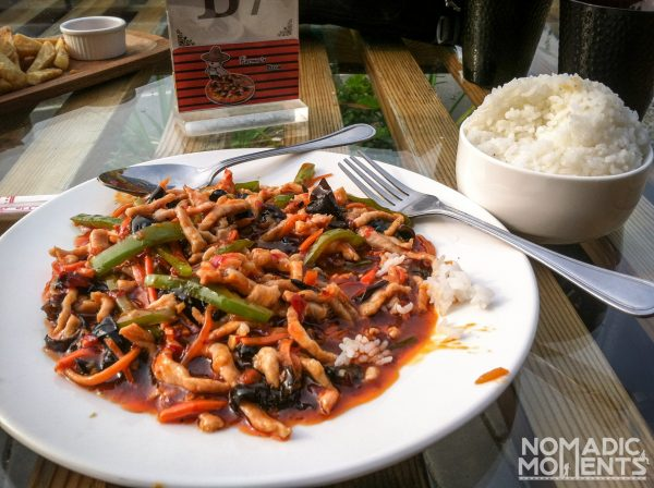 A Chinese Red Sauce Pork Dish