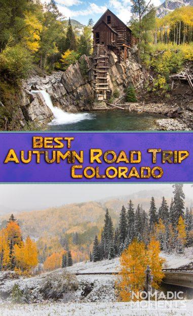 Best Autumn Road Trip in Colorado