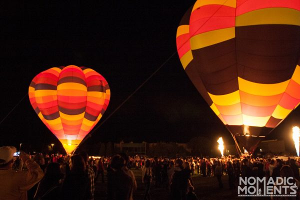 Labor Day Lift Off Balloon Glow