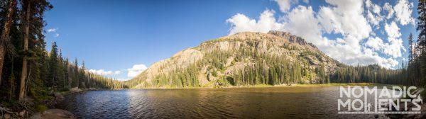 Eagles Nest Peak and Mirror Lake.