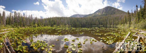 Surprise Lake and Dora Mountain