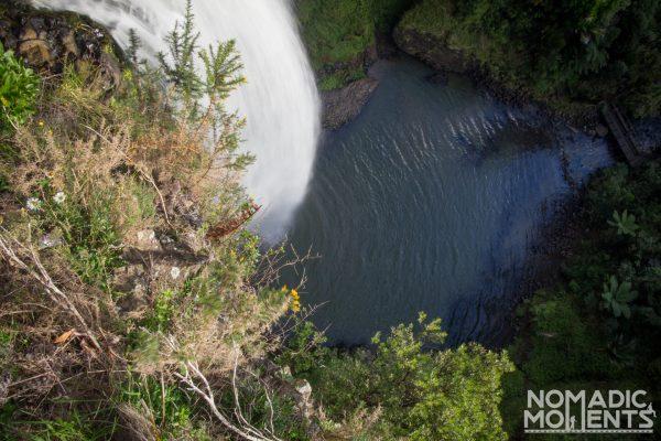 Top of the Bridal Veil Falls