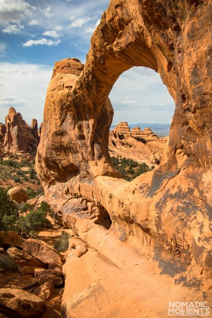Arches National Park's Double O Arch