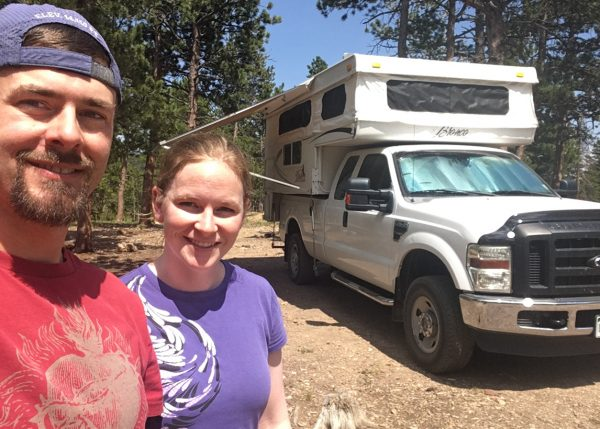Full-Time Truck Camper Nomads