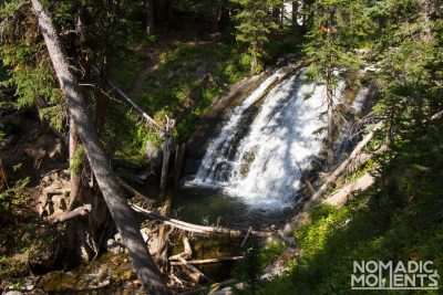 A Waterfall on Colorado's Four Pass Loop