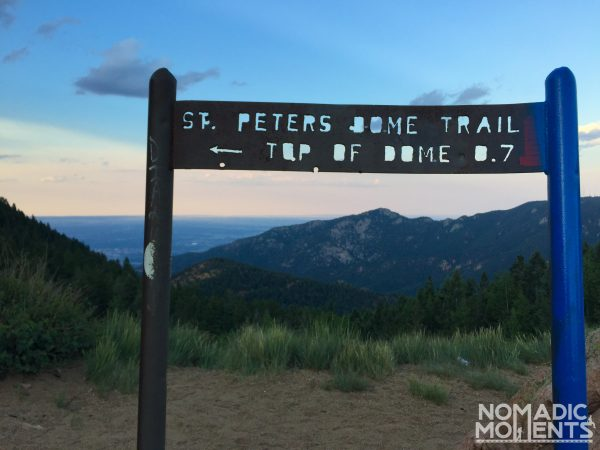 St. Peters Dome Trail Sign
