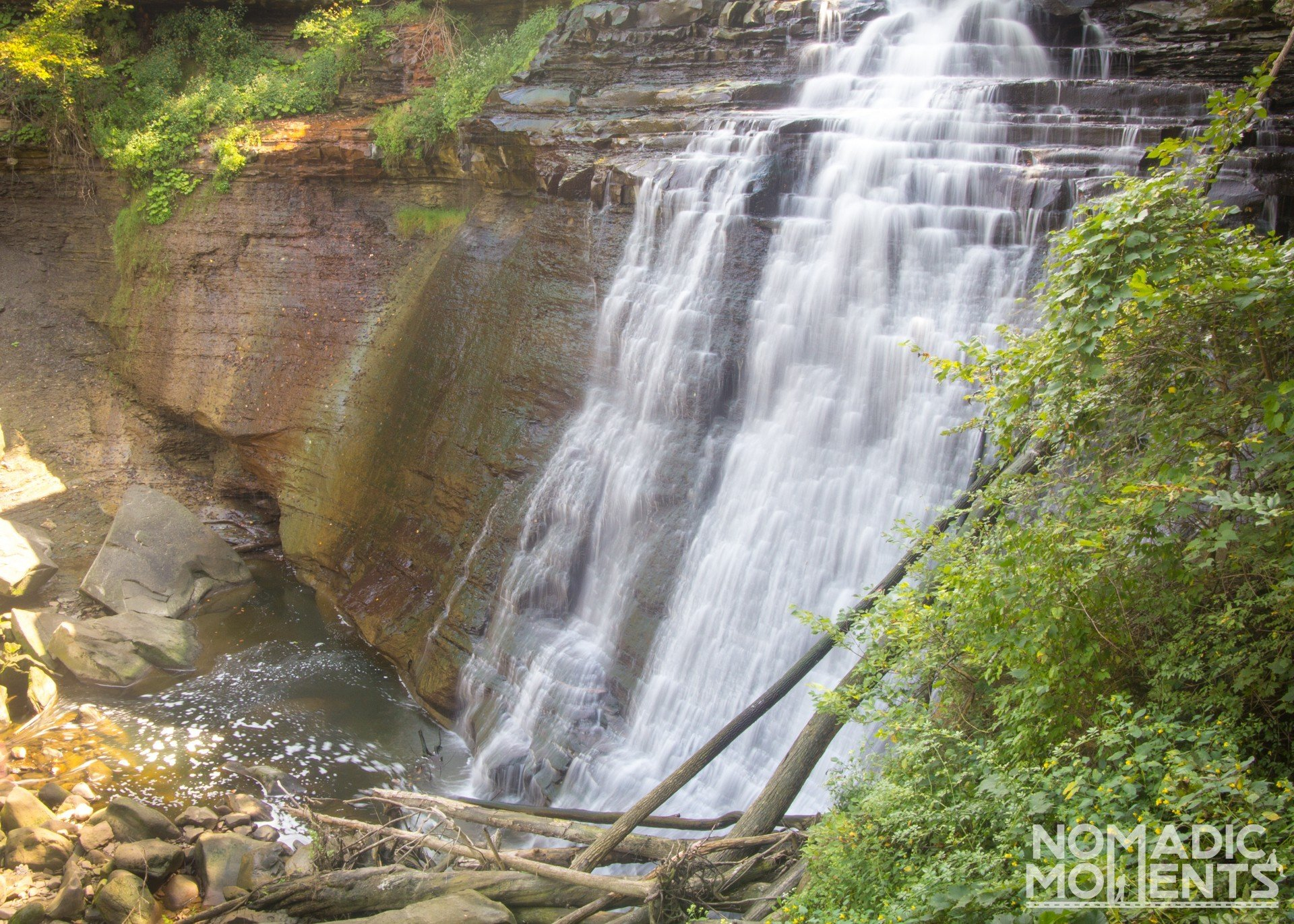 Visiting Cuyahoga Valley and Brandywine Falls