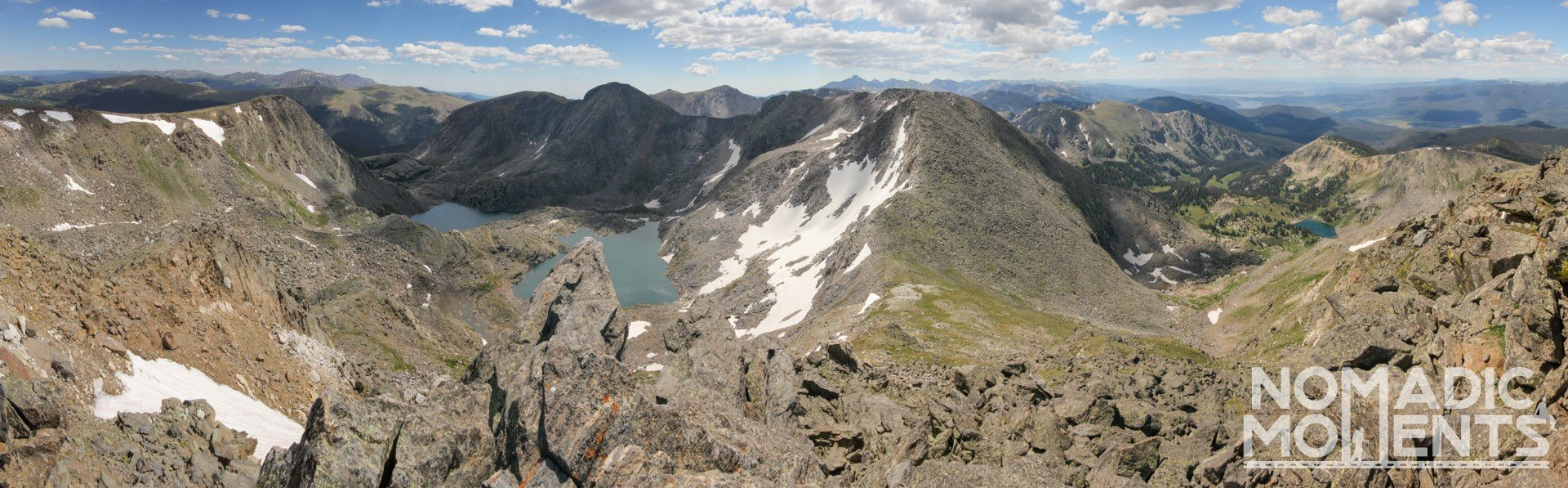 A panoramic view from the top of Mount Ida.