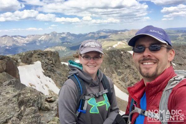 Jake & Jennifer on Mount Ida