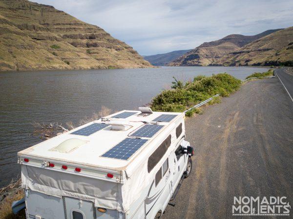 Solar Panels at the Snake River
