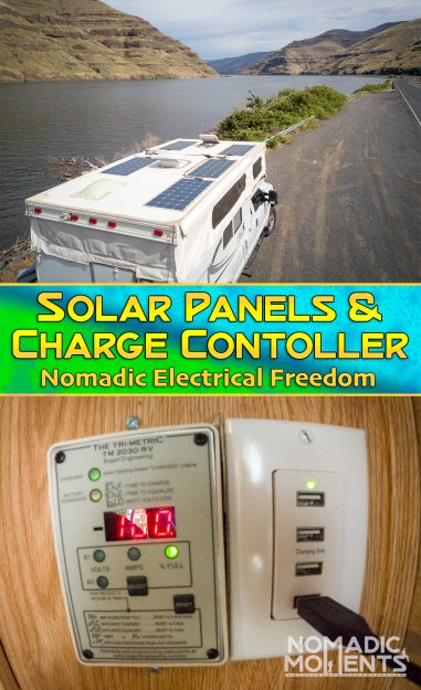 Solar Panels & Charge Controller