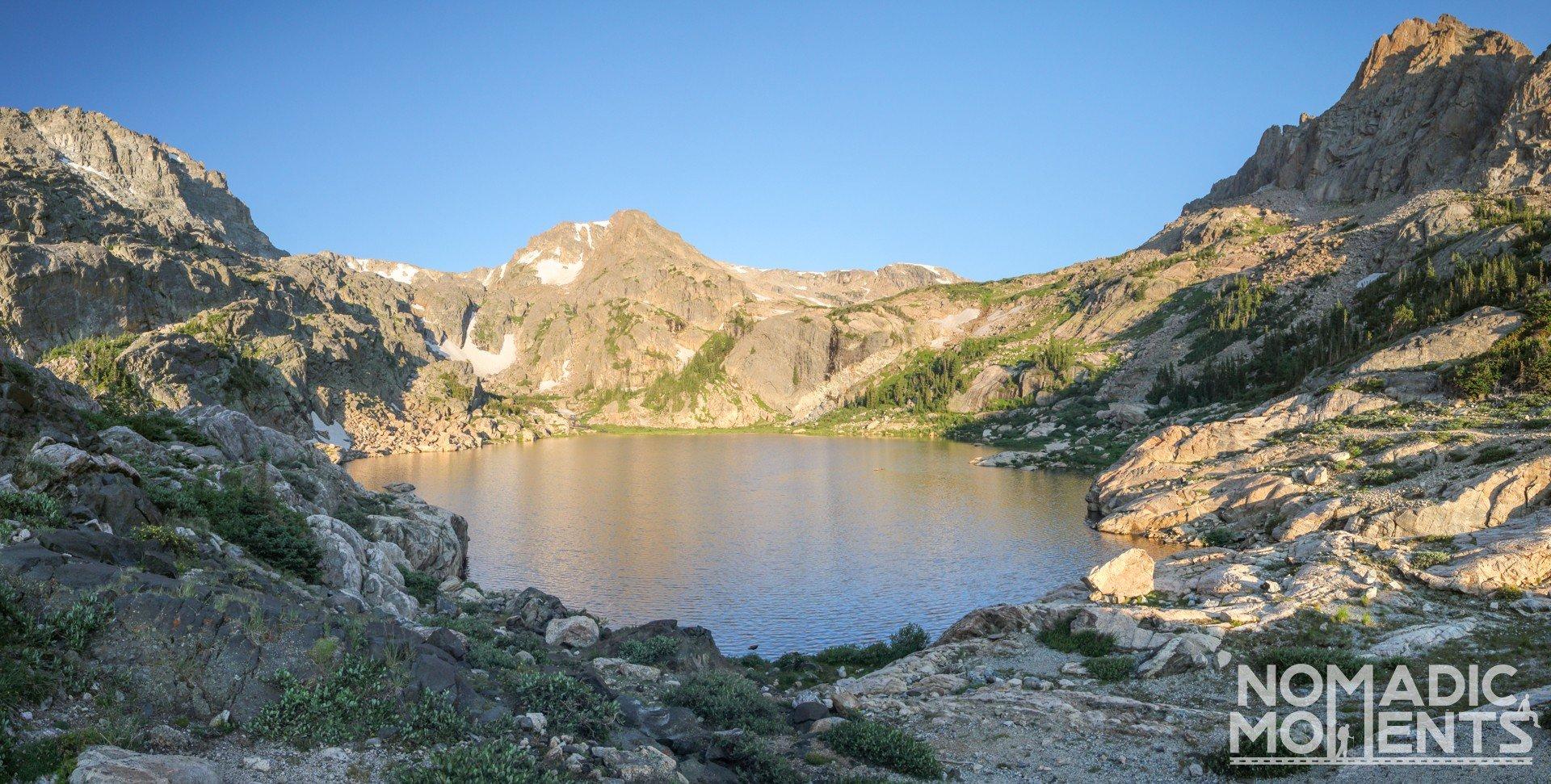 Bluebird Lake Overlook