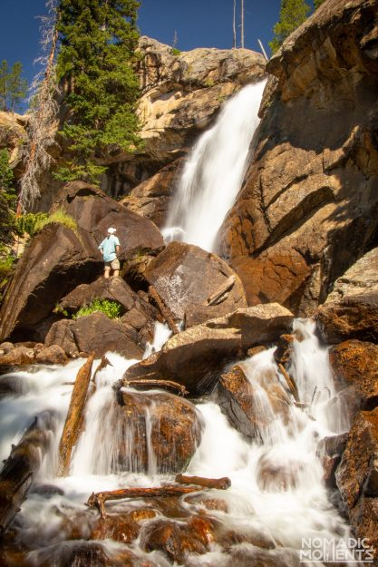 Ouzel Falls is one of the best trails in Rocky Mountain National Park.