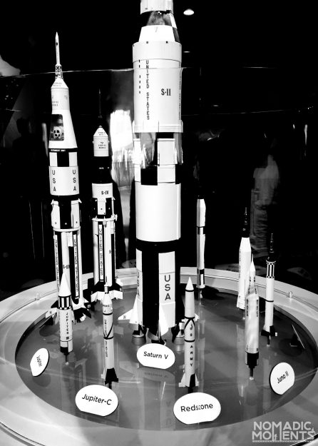 Scale of NASA's rockets