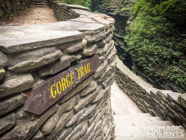 The Watkins Glen Gorge Trail