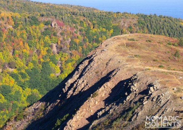 Ridge-line of Meat Cove Mountain