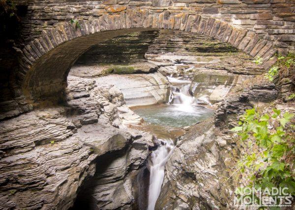 Water Under Central Bridge