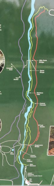 Watkins Glen Tail Map