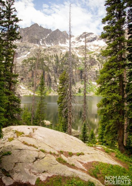 Crater Lake Campsite #10 View