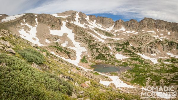 Into the Indian Peaks Wilderness