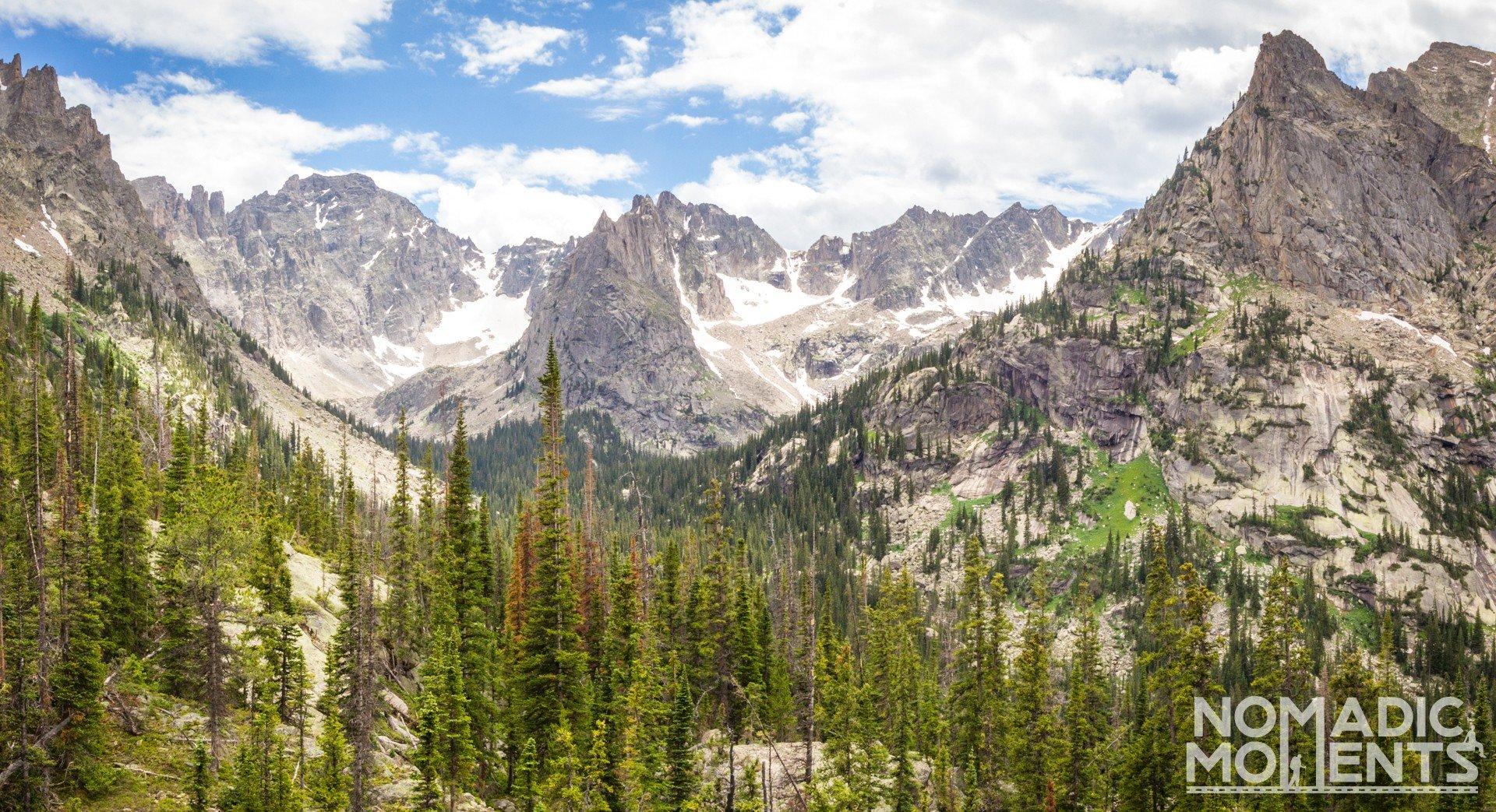 Lone Eagle Peak in the Indian Peak Wilderness
