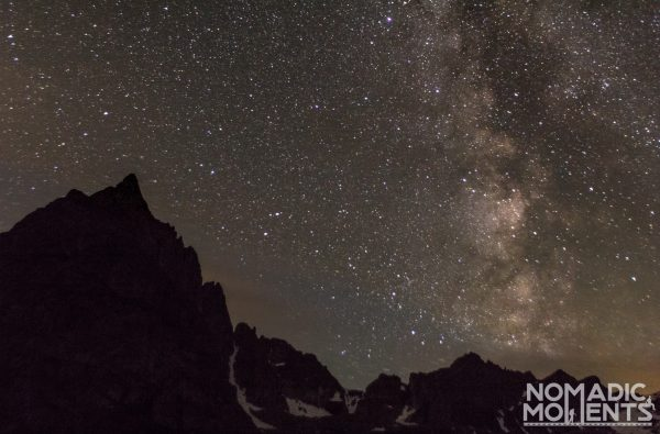 The Milky Way and Lone Eagle Peak