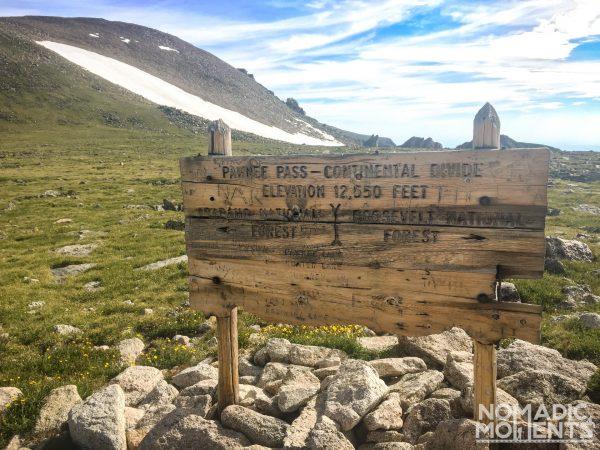 Pawnee Pass 12,550 Feet