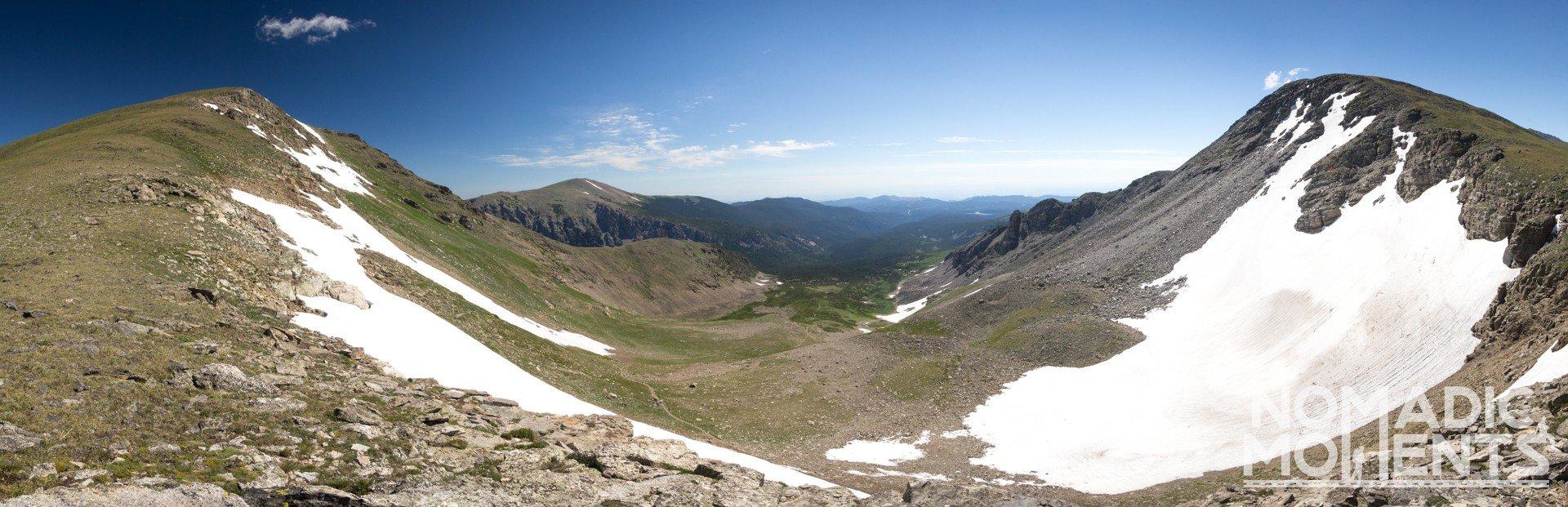 View east from Buchanan Pass