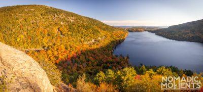 Acadia's Park Loop Road in Autumn