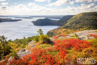 Acadia Mountain Autumn View
