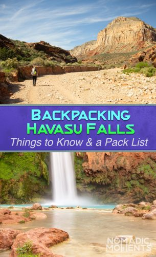 Backpacking Havasu Falls