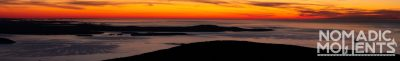 Cadillac Mountain and a Bar Harbor Sunrise