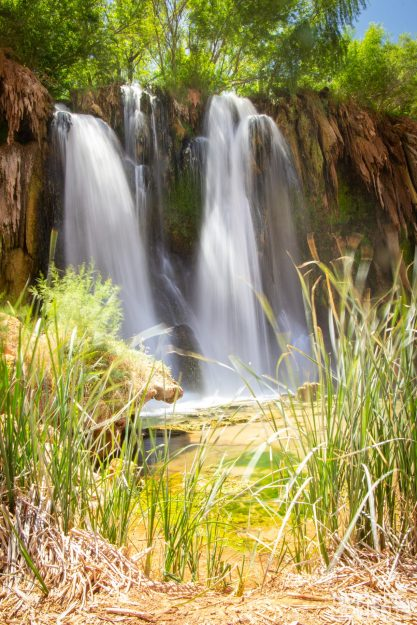 Fifty Foot Falls is a Hidden Oasis found in the Havasu Falls guide