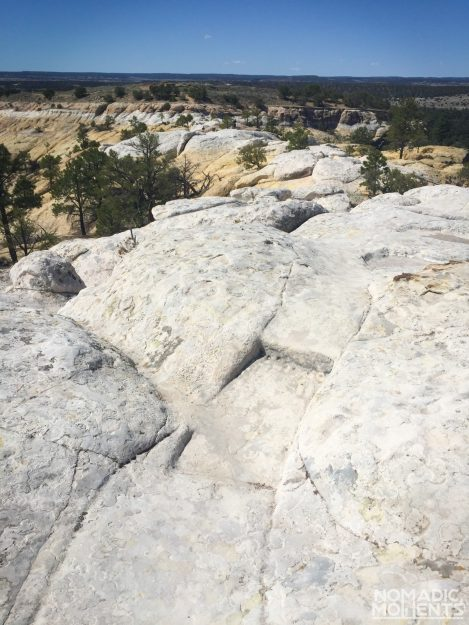 Headland Trail at El Morro National Monument