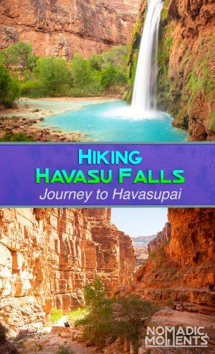 Hiking Havasu Falls
