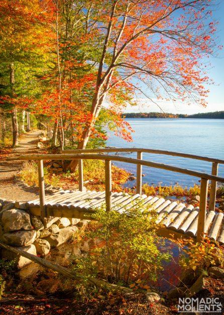 Jordan Pond in Autumn