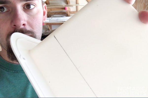 Cutting the MaxXfan's internal cover