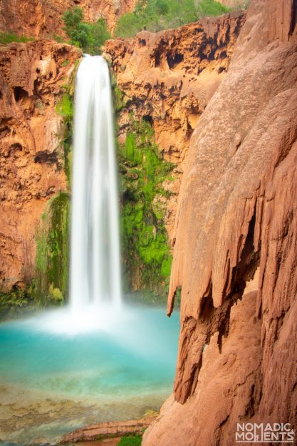 Mooney Falls and the Lime Landscape