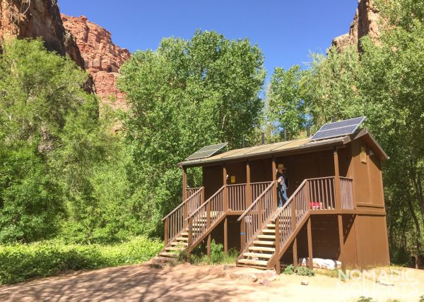 Havasupai Campground Toilets