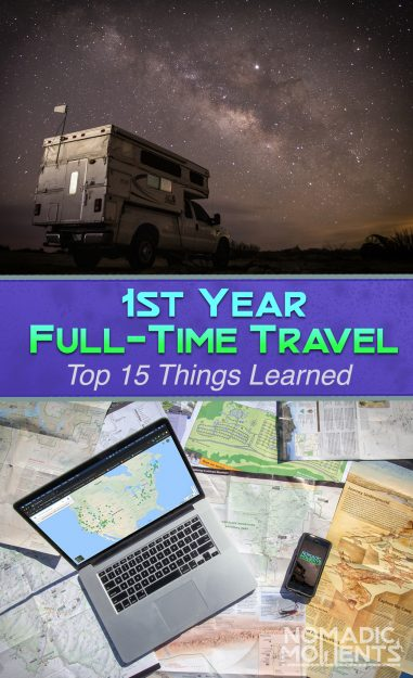 1st Year Traveling Full-Time