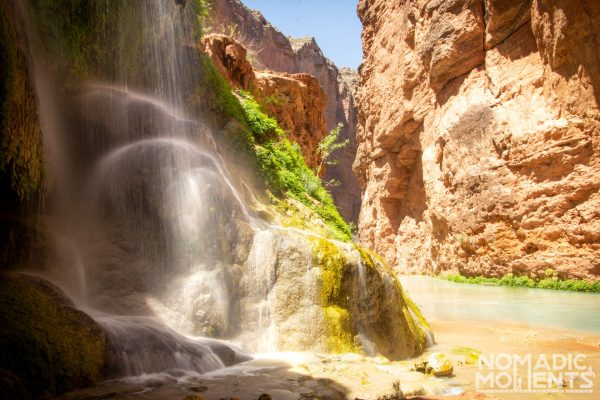 An Unnamed Waterfall in the Havasu Canyon