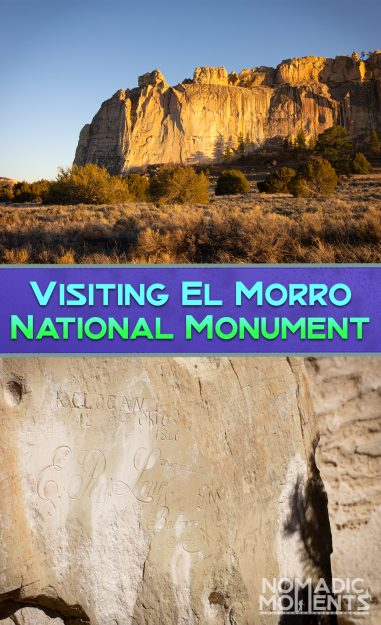 Visiting El Morro National Monument