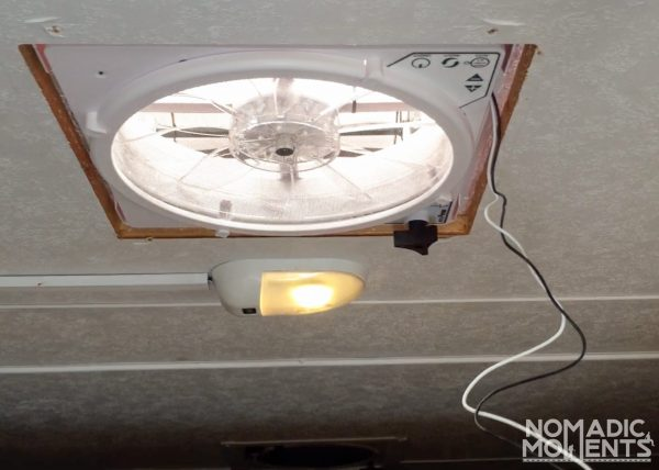 MaxXfan Deluxe Installation & electrical wiring.
